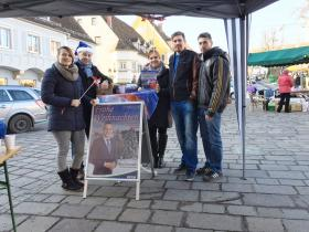FPÖ Adventstand